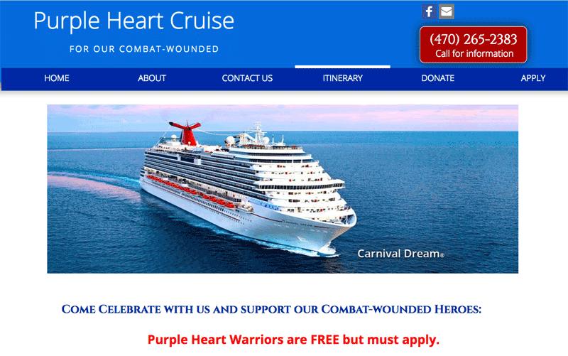 Purple Heart Cruise
